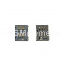 Коннектор SIM Sony F3111/F3311/G3311/G3221/H4311/H4113 (Xperia XA/E5/L1/XA1 Ultra/L2 Dual/XA2 Dual)