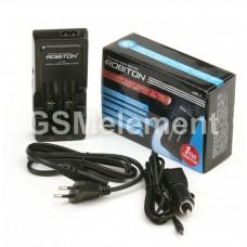 Зарядное устройство Robiton Li500-2 для 14500/18500/18650/16340 (CR123A) автомат