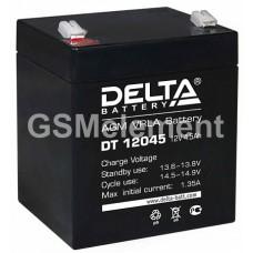 Аккумулятор свинцовый 12V-4.5Ah 90х70х101 Delta DT12045