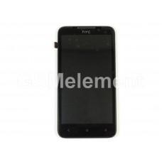 Дисплей HTC Desire 516 модуль в сборе чёрный