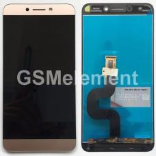 Дисплей LeEco Le 2 X526/X527/X620 в сборе с тачскрином золото, оригинал