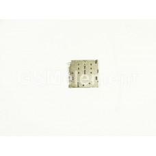 Коннектор SIM Samsung A320F/A520F/A530F/A720F/A730F/N920C