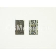 Коннектор SIM+MMC Samsung A320F/A520F/G930F/G935F/N930F