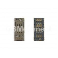 Коннектор SIM Sony F3112/G3112/G3212 (Xperia XA Dual/XA1 Dual/XA1 Ultra Dual)
