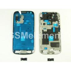 Дисплейная рамка Samsung i9190 Galaxy S4 mini с кнопкой HOME, чёрный