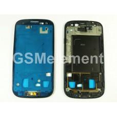 Дисплейная рамка Samsung i9300 Galaxy S3 серебро