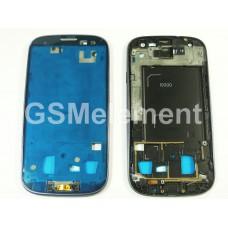 Дисплейная рамка Samsung i9300 Galaxy S3 синий