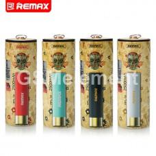 Внешний аккумулятор Remax RPL-18, 2500 mAh, зелёный