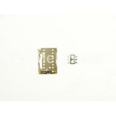 Коннектор SIM Meizu MX5/MX6/Pro 6 (комплект)