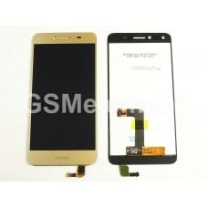 Дисплей Huawei Honor 5A (LYO-L21)/ Huawei Y5 II (CUN-U29) в  сборе с тачскрином золото