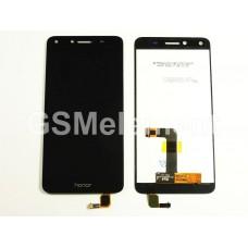 Дисплей Huawei Honor 5A (LYO-L21)/ Huawei Y5 II (CUN-U29) в сборе с тачскрином чёрный