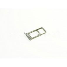 Контейнер SIM+MMC Samsung G935F чёрный