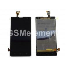 Дисплей Huawei Honor 3C (H30-U10) в сборе с тачскрином чёрный