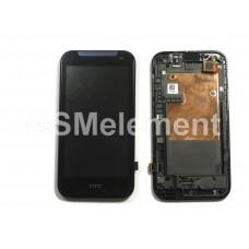 Дисплей HTC Desire 310 модуль в сборе чёрный