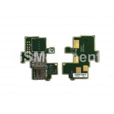 Шлейф (субплата) Sony C1905 (Xperia M) на разъём SIM/MMC