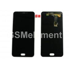 Дисплей Meizu MX6 в сборе с тачскрином чёрный