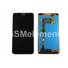 Дисплей Huawei Honor 3X/G750 в сборе с тачскрином чёрный