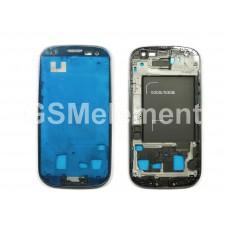 Дисплейная рамка Samsung i9300i Galaxy S3 Duos синий