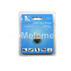Bluetooth адаптер CSR (USB 2.0, bluetooth 4.0, радиус 100 m)