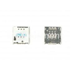 Коннектор SIM Sony LT22i/LT30i/Meizu MX4/Meizu MX4 Pro
