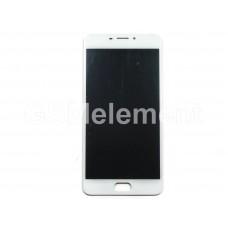 Дисплей Meizu M5 Note в сборе с тачскрином белый