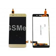 Дисплей Huawei Honor 4C (CHM-U01) в сборе с тачскрином золото