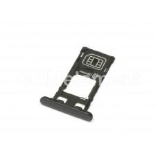 Контейнер SIM Sony F5321 (Xperia X Compact) чёрный