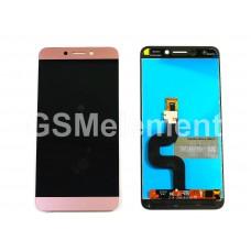 Дисплей LeEco Le 2 X526/X527/X620 в сборе с тачскрином розовое золото, оригинал