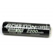 Аккумулятор Robiton ICR18650C 2200mAh 3.7V Li-Ion с защитой