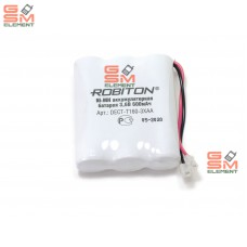 Аккумулятор Robiton T160 NiMh, 3.6 V, 600 mAh