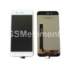 Дисплей Xiaomi Mi A1/Mi 5X (MDG2) в сборе с тачскрином белый