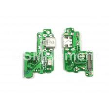 Шлейф (субплата) Huawei P10 Lite на системный разъём
