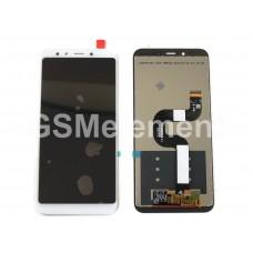Дисплей Xiaomi Mi A2/Mi 6X в сборе с тачскрином белый