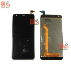Дисплей Highscreen Easy XL в сборе с тачскрином чёрный