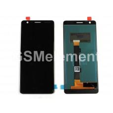 Дисплей Nokia 3.1 (TA-1063) в сборе с тачскрином чёрный