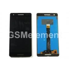 Дисплей Nokia 2.1 DS (TA-1080) в сборе с тачскрином чёрный