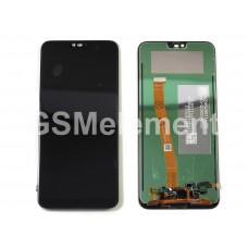 Дисплей Huawei Honor 10 (COL-L29) в сборе с тачскрином чёрный, оригинал