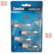 Лампа накаливания Camelion DP-704 (220В/ 7Вт/ E14)