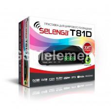 ТВ-приставка Selenga T81D (DVB-T2)