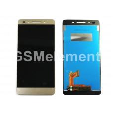 Дисплей Huawei Honor 7 (PLK-L01) в сборе с тачскрином золото