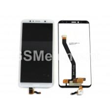 Дисплей Huawei Honor 7A Pro/Honor 7C/Huawei Y6 2018/Y6 Prime 2018 в сборе белый