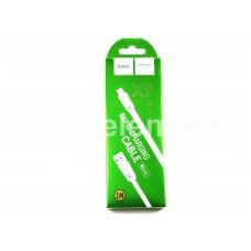 USB датакабель micro USB Hoco X9, силиконовый, плоский (1,0 m) белый