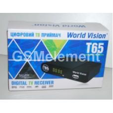 ТВ-приставка цифровая World Vision T65 (DVB-T2)