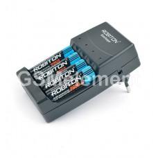 Зарядное устройство Robiton Ecocharger AK02 (автомат) для акк. и алкалин. бат. AA и AAA (1-4 шт.)