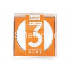 СЗУ LDNio A2208 (светильник-ночник 3 уровня яркости (LED)/ 2 USB выхода/ 2.4 A)