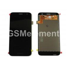 Дисплей Samsung SM-J260F Galaxy J2 Core (2018) в сборе (Black), оригинал