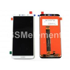 Дисплей Huawei Honor 7A/Y5 2018/Y5 Prime 2018 в сборе с тачскрином белый, оригинал