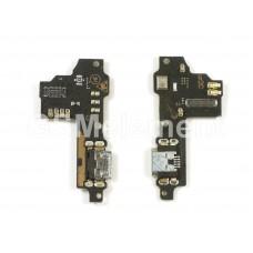 Шлейф ZTE Blade V8 с разьемом micro USB и микрофоном (субплата)