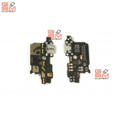 Шлейф ZTE Blade V8 Lite с разьемом micro USB и микрофоном (субплата)