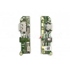 Шлейф (субплата) Sony H4113 (Xperia XA2 Dual) на системный разъём, оригинал